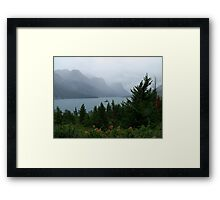 Rainy Day at Wild Goose Island Framed Print