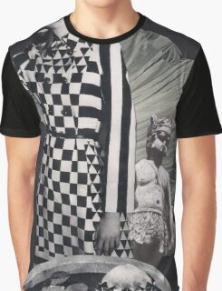Black And White - Square Graphic T-Shirt