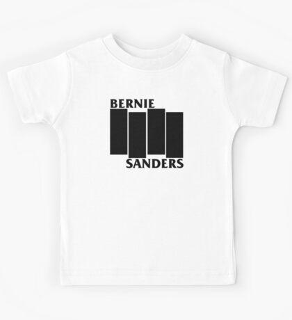 Bernie Sanders Black Flag Kids Tee