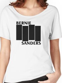 Bernie Sanders Black Flag Women's Relaxed Fit T-Shirt