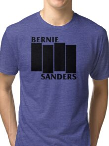 Bernie Sanders Black Flag Tri-blend T-Shirt