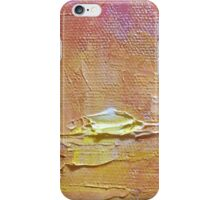 Sunset - Abstract Sun Setting Over The Ocean iPhone Case/Skin