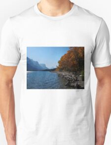 Fall Shoreline Unisex T-Shirt