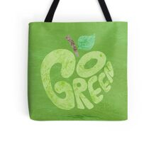 Go Green Apple Tote Bag