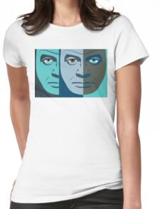 FACES #14 Womens Fitted T-Shirt