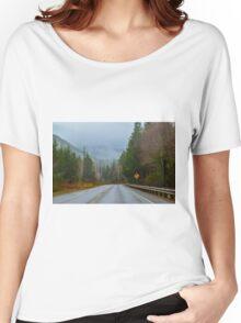 Burnt Mountain Road, Clallam County, Washington Women's Relaxed Fit T-Shirt