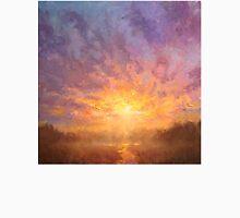 Impressionistic Sunrise Landscape Painting Unisex T-Shirt