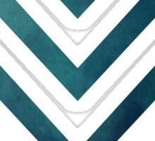 Blue Arrow Sticker