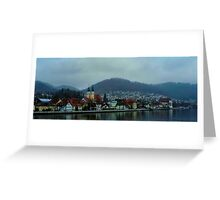 On the Danube.. Greeting Card