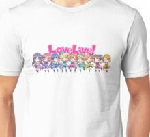 Love Live! Chibi Design Unisex T-Shirt