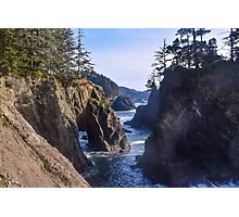 Natural Bridges Cove, Samuel H Boardman State Park, Curry County, Oregon Photographic Print