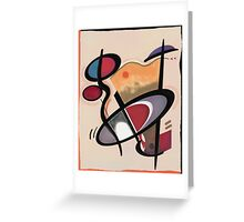 Abstract composition 87 Greeting Card