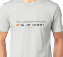 Have you cleared the cache? Unisex T-Shirt