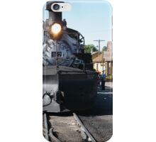 Cumbres-Toltec Narrow-Gauge Railroad Locomotive, Chama, New Mexico iPhone Case/Skin