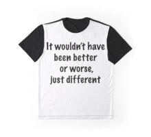 Just Different Graphic T-Shirt