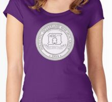 Official HORG Seal - Opaque background for obscure cladists Women's Fitted Scoop T-Shirt