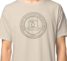 Official HORG Seal - light shirts for light microscopes Classic T-Shirt