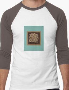 Minty Choc 2 Men's Baseball ¾ T-Shirt