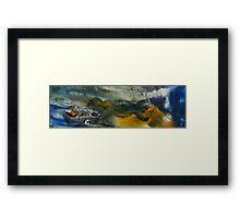 Tides Of Color 4 Framed Print