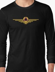 colourCaste Mix - Pink/Gold Long Sleeve T-Shirt