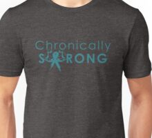 Chronically Strong - Turquoise Unisex T-Shirt