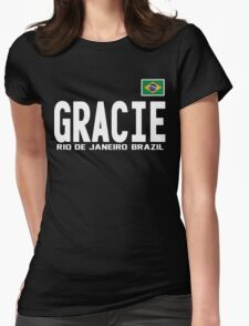 Gracie Represent [FIGHT CAMP] Womens Fitted T-Shirt