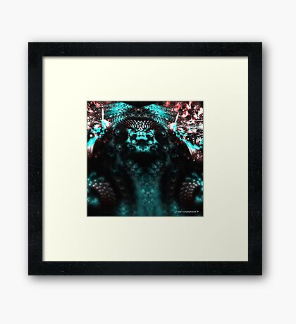Chief Reptile Framed Print