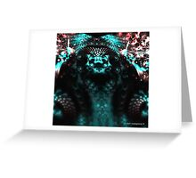 Chief Reptile Greeting Card