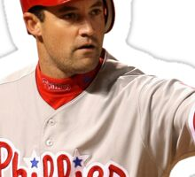 Pat Burrell of the Phillies Sticker
