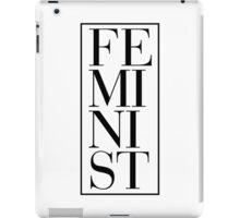 FE MI NI ST iPad Case/Skin