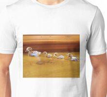 Ducklings following Mum Unisex T-Shirt