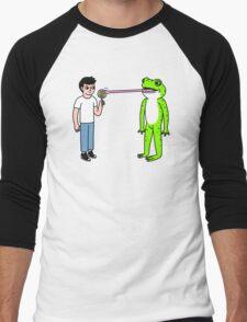 Lollipop Frog Men's Baseball ¾ T-Shirt