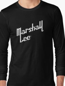 Marshall Lee White Logo Long Sleeve T-Shirt