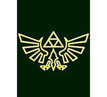 Zelda - Hylian Crest V1 Photographic Print