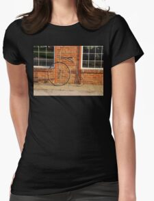 Old Bike Womens Fitted T-Shirt
