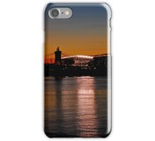 Sunset on Paul Brown Stadium iPhone Case/Skin