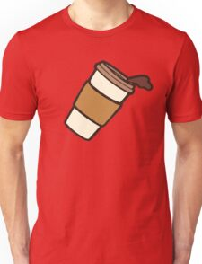 Take it Away Coffee Pattern Unisex T-Shirt