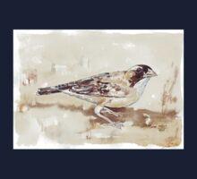 White-browed Sparrow Weaver (Koringvoël) Kids Tee