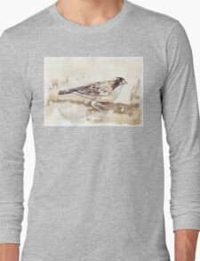 White-browed Sparrow Weaver (Koringvoël) Long Sleeve T-Shirt