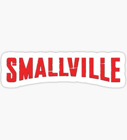 Smallville TV Show Logo Sticker
