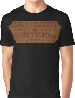 Agua Caliente - Saloon and Tavern Graphic T-Shirt