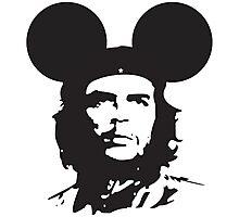 Che Guevara Mickey Photographic Print