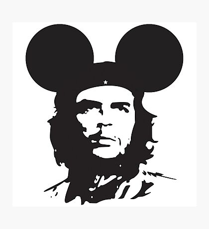 Che Guevara Mickey Photographic Print