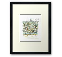 Bents Basin, Nepean River, NSW Framed Print