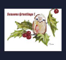 1 Little Bird - Season's Greetings! One Piece - Short Sleeve