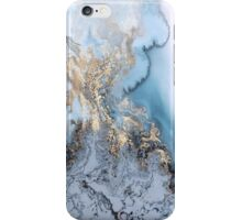 Milky Gold Swirl iPhone Case/Skin