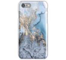 Milky Gold Swirl iPhone Case/Skin