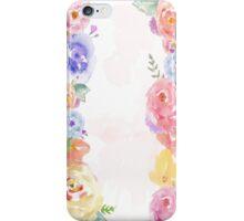 Floral Lane iPhone Case/Skin