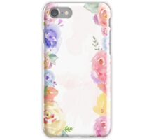 Floral Lane iPhone Case/Skin