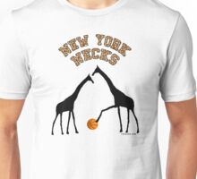New York Necks (giraffe pattern for light-colored shirts) Unisex T-Shirt